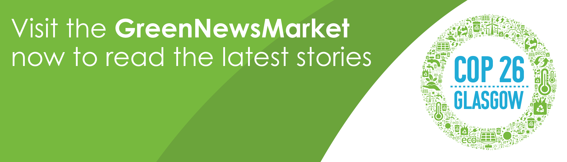 Visit the GreenNewsMarket to read the latest stories