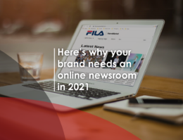 Why brands need an online newsroom in 2021